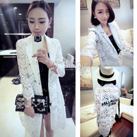 S3-31 2014 summer elegant after the letter lace suit jacket female  women blazer blazers blaser TOP SALE!