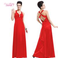 Diamante Falbala Cross Back Sexy V-neck Short Club Dress sexy slim deep V-neck long evening dress