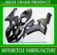 NEW! all flat black body Fairings for Kawasaki Ninja ZX6R 2005 2006 ZX 6R 05 06 zx-6r RX7A z2 x2