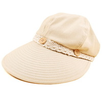 2014 New arrive Hat female summer anti-uv sunbonnet sun beach cap folding outdoor sun hat
