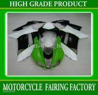 Hot sale green black racing motorcycle fairings for Kawasaki Ninja ZX-6R 2007 zx6r ZX 6R 07 08 RX2k
