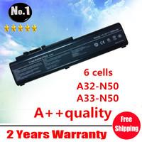 wholesale New laptop battery For ASUS N50 N50VC N51 N51A N51S  N51V,A32-N50 A33-N50 90-NQY1B1000Y 90-NQY1B2000Y