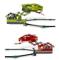 BELA 9758 409pcs Ninja toy minifigures figures ninja Spinner Battle Set building blocks sets Educational Bricks children toys