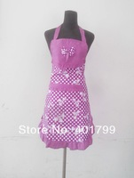 Free shipping lady beautiful apron one size fit all