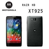 Original Motorola RAZR HD XT925/Moto XT925 Unlocked Cellphone Android OS 4.0 16GB Wifi GPS WCDMA LTE 4G Dual Core 1536MHz