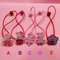 Peppa Pig Hair Jewelry  For Children Cartoon Hair Accessories 5PCS/LOT