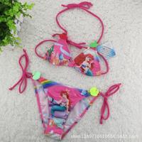 The Little Mermaid Girls Sexy Bikini Swimsuit  Kids Cute Children 's Clothes