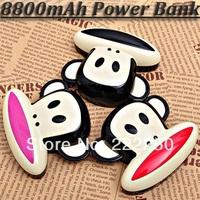 8800mAh Cartoon Mobile Power Bank Portable Charger for Cellphone Samart Phones