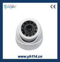YH-570 480P 640*480 horizontal resolution night vision home surveillance camera/high-definition monitor/IR dome camera
