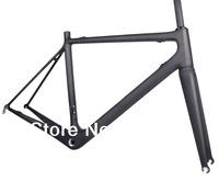 2014 Latest Super Light 948g New Road Bike Carbon Frame&Fork Compatible Di2 UD Matt BSA 54cm Frameset