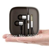 MOQ:1PCS Top Quality XiaoMi Piston Earphones Headphones Headset with Remote & Mic For XiaoMi MI2 MI2S MI2A Mi1S M1
