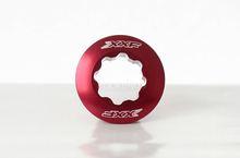 pedaleira xxf braço da manivela parafuso de fixação parafuso cnc calota tampa m20 tópicos para shimano deore vermelho(China (Mainland))