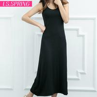 2014 summer vest full dress bohemia spaghetti strap full dress fashion basic one-piece dress female
