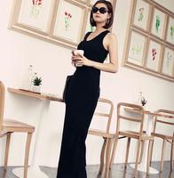 2014 fashion slim hip slim one-piece dress full dress modal tank dress basic skirt step female