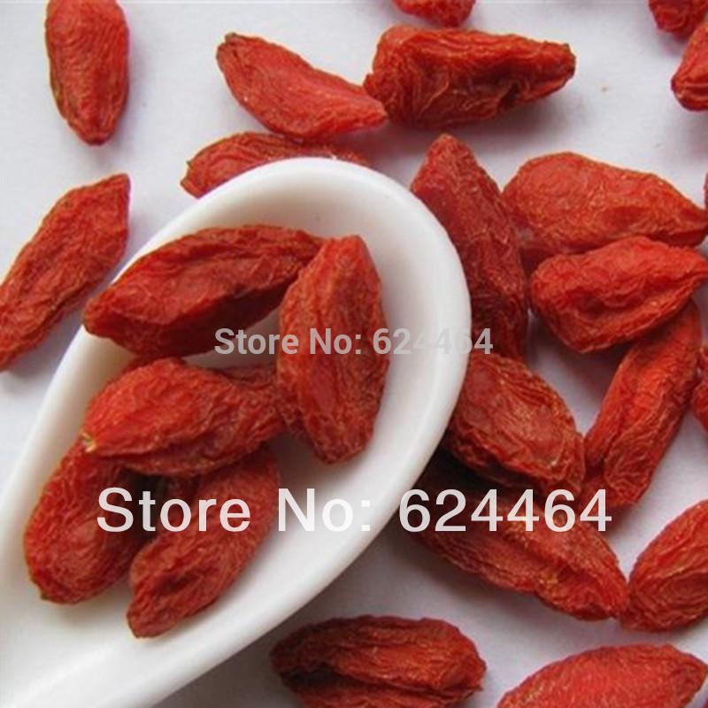 Promotion 500g Top Grade Ningxia Sun Dried Goji berries Medlar Wolfberry Low pesticide Goji Herbal Tea