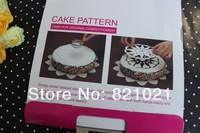 Free Shipping,6pcs/set Tiramisu cake stencils spray mold tool,bakery /pastry cake ,Cake Decorator,PROMOTION!