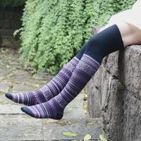 Hot Sale Spring Retro High Socks wind socks knee thigh socks free shipping  wz2007