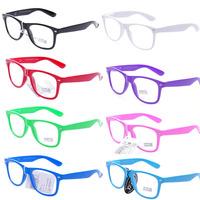 2015 Fashion Oculos De Sol Feminino Summer Brand Designer Sun Glasses Female Vintage Sunglass Colorful Frame Women Clear Eyewear
