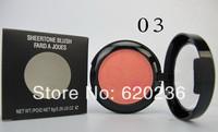 8 Colors Makeup Cosmetic Blush Blusher Powder Palette 80pcs/lot supply