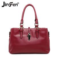 Women Handbags New Sale Freeshipping Women Zipper Solid Soft Bolsas Femininas 2014 Women's Spring Handbag Fashion Bag Messenger