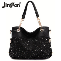 Women's bags trend 2014 lace bag shoulder bag cross-body female