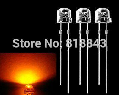 Led Long Lead Orange Led Lamp Long Lead