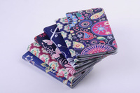 Floral print  Protective Holster with Card Slots tablet Case For Samsung GALAXY Tab3 lite T110/T111