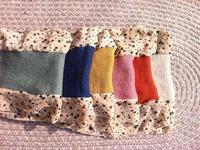 Free Shipping Yiwu wholesale clothing fashion chiffon scarf women stitching
