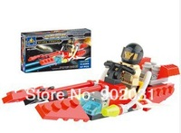 Free Shipping---Interstellar firefox selling educational building blocks assembled toy ship
