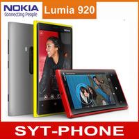 Original Nokia Lumia 920 Unlocked 3G/4G Windows Mobile Phone ROM 32GB 8.7MP GPS WIFI Bluetooth Free Shipping