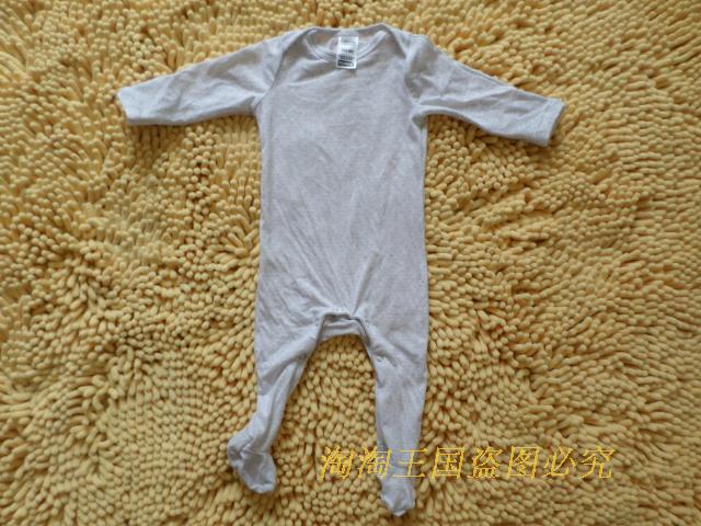 Bonds child baby newborn 100% bamboo fibre cotton long-sleeve bodysuit clothing sleepwear(China (Mainland))