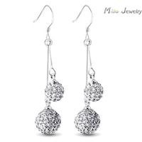 Серьги висячие Mine Jewelry 925 Pendientes Brincos Brincos SM-362