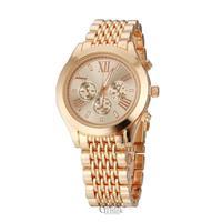 Luxury Gold Plated Stainless Steel fashion man women ladies Dress Janpan Quartz Movement Mens Wrist Watch 005 2014 New