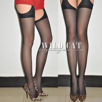 Fashion all-match one-piece sexy cutout pantyhose stockings 2028