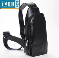 Men bag Men chest pack Men waist pack fashion casual bag Genuine Leather bags shoulder bag