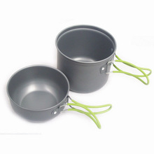 stainless steel camping cook set promotion