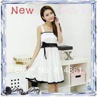 New 2014 summer spaghetti strap nightgown sleepwear sexy temptation women's viscose nightgown lover sleepwear