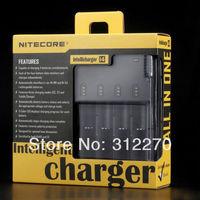 Free shipping Nitecore i4 Universal Intelligent Li-ion/NiMH 18650/26650/AA Battery Charger