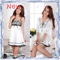 New 2014 Summer  sleepwear spaghetti strap summer viscose women's sexy nightgown