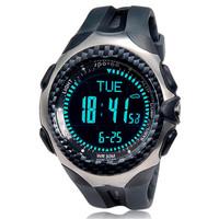 Top Sports Spovan MINGO functional Outdoor Digital Compass barometer pedometer temperature height weather forecast men Watch
