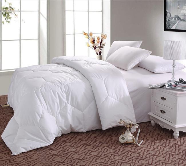 High Quality Australia Single Size---140cmX210cm 350GSM Goose Down Quilt Comforter Blanket Doona Duvet(China (Mainland))