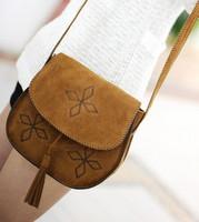 2014 fashion summer vintage small bags women's handbag one shoulder cross-body tassel women's small messenger bag