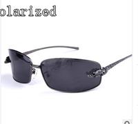 Nobility brand metal polaroid sunglasses for men driver mirror new tide men's polarized sunglasses T8200643