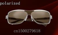 Brand metal polaroid sunglasses for men driver mirror European and American retro classic men's polarized sunglasses 8200226