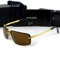 Nobility brand metal high quality designer metal brand polarized sunglasses for men MB219S driver mirror