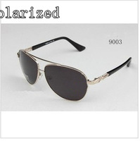 New influx of people classic fashion 9003 men's metal polarizer sunglasses driver mirror