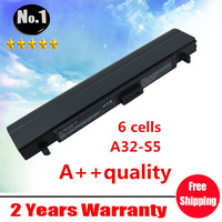 wholesale New laptop battery For ASUS M5 S5 M5000 S5000 S5200N W5600A W5000A ,A31-S5 A32-S5 S5NBTB1A ,6 cells,free shipping