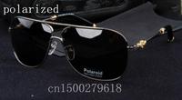 designer metal brand polarized sunglasses for men mirror driver 1005887 men's fashion polarizer sunglasses