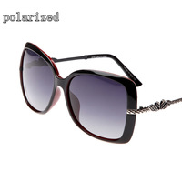 Latest elegant women's driving mirror classic fashion new brand designer polarized sunglasses for women 090