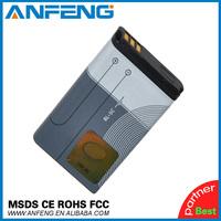 2pcs/lot 1020mAh BL-5C BL5C Replacement Battery for Nokia C2-06 C2-00 X2-01 1100 6600 6230 Batterie Batterij Bateria